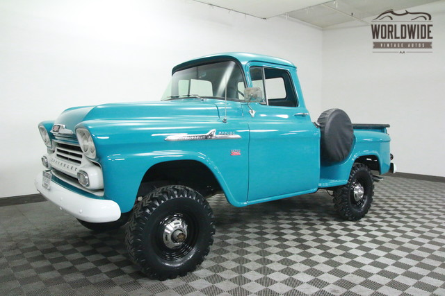 1958 Chevy Apache For Sale >> 1958 Chevy Apache For Sale