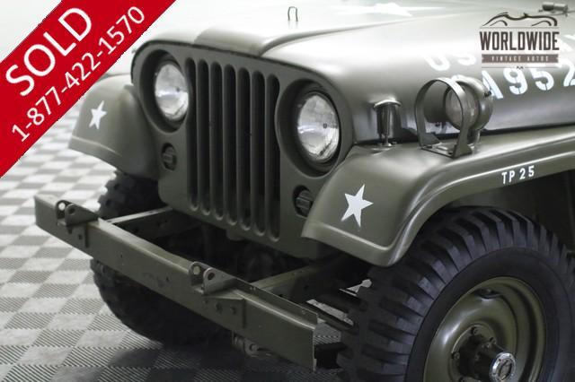 Jeep M38a1 Willys 1954 Vin 75417 Worldwide