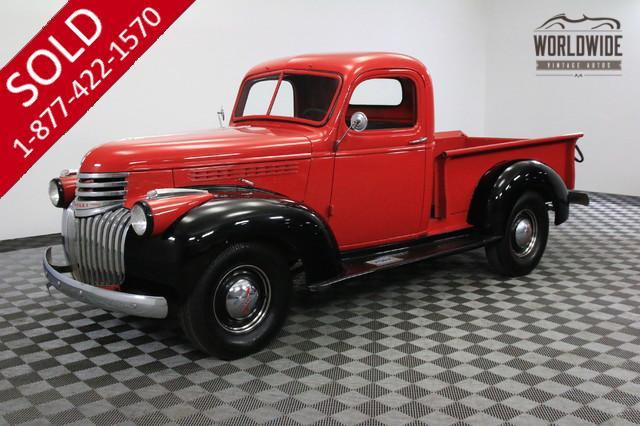 AK SERIES | CHEVROLET | 1946 | VIN # az160445 | Worldwide Vintage Autos