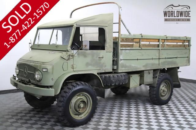 1963 Mercedes Unimog for Sale