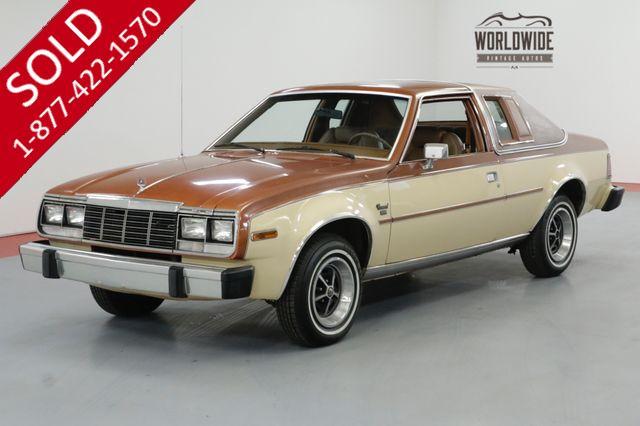 1982 AMC CONCORD DL 15,900 ORIGINAL MILES COLLECTOR!