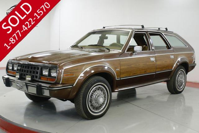 1985 AMC EAGLE WOODY 1 OWNER CA CAR 4x4 RARE COLLECTOR