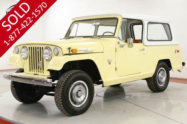 1970 AMC JEEPSTER COMMANDO DAUNTLESS V6 4X4 TH400 AUTO REMOVABLE TOP