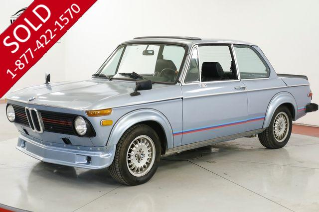 1974 BMW 2002 Ti TRIBUTE MANUAL AZ CAR LOW MILES 5SPD RARE