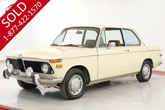 1971 BMW 2002 ORIGINAL COLLECTOR. 64K MILES. MANUAL. RARE