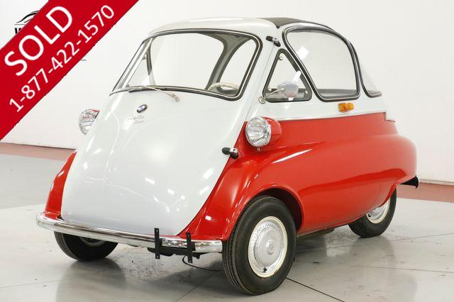 1956 BMW ISETTA 300 RARE BUBBLETOP AND SUNROOF RESTORED 4-SPEED