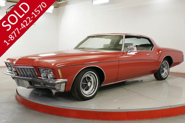 1972 BUICK RIVIERA RARE SUNROOF CAR! NEW PAINT. COLLECTOR. V8