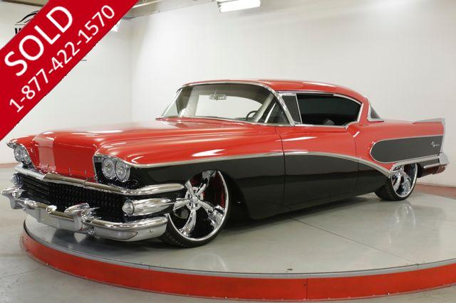 1958 BUICK SPECIAL RESTORED CUSTOM $15K+ IN CHROME AIR RIDE V8