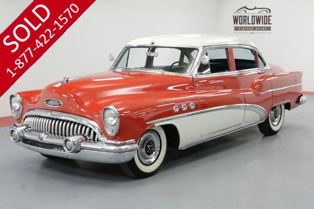 1953 BUICK SUPER 8 MODEL 52. GORGEOUS. CHROME. V8!