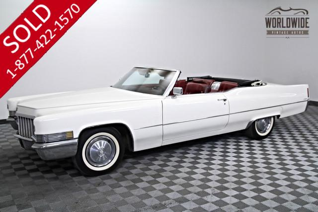 1970 Cadillac DeVille Convertible 472 V8 for Sale