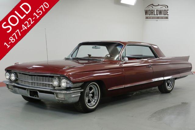 1962 CADILLAC  DEVILLE  390V8 AUTOMATIC POWER WINDOWS EXCELLENT (VIP)