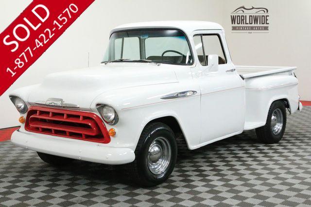 1956 CHEVROLET 3100 TRUCK BIG WINDOW V8 SHORT BED
