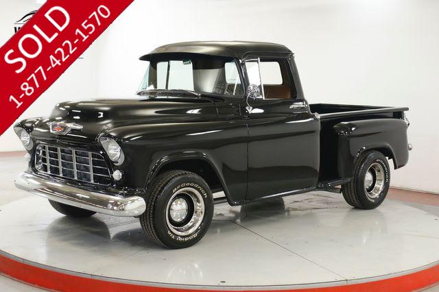 1955 CHEVROLET 3100 RESTORED SHORT BED 350 FUEL INJECTED 4 SPD