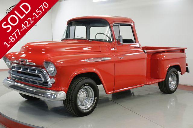 1957 CHEVROLET  3200 RARE BIG BACK WINDOW PICKUP. V8. MUST SEE