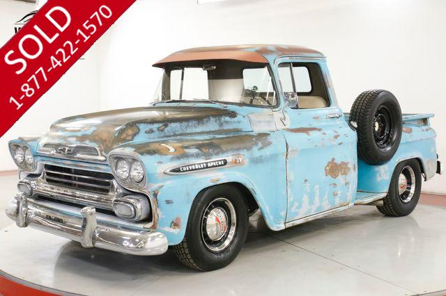 1959 CHEVROLET APACHE RESTOMOD PATINA 350 V8 AUTO HOT ROD