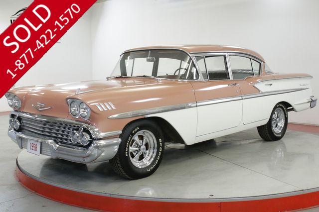 1958 CHEVROLET BELAIR ORIGINAL 283 V8