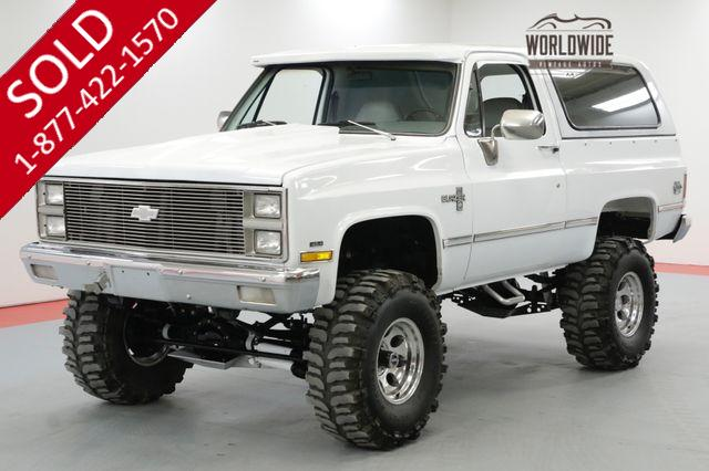 1981 CHEVROLET BLAZER $40K+ BUILD FRAME OFF RESTORATION BIG BLOCK