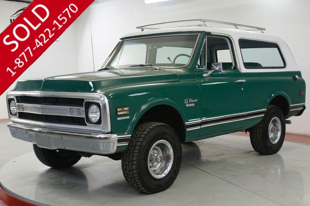 1969 CHEVROLET  BLAZER CST 1 OF 4,935 COLLECTOR GRADE K5 4x4 AUTO!