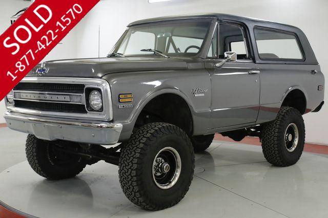1970 CHEVROLET  BLAZER K5 CA TRUCK RALLY WHEELS LIFT V8 PS PB
