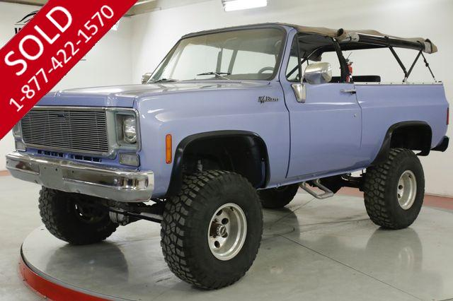 1973 CHEVROLET BLAZER FULL CONVERTIBLE 383 V8 NEW INTERIOR