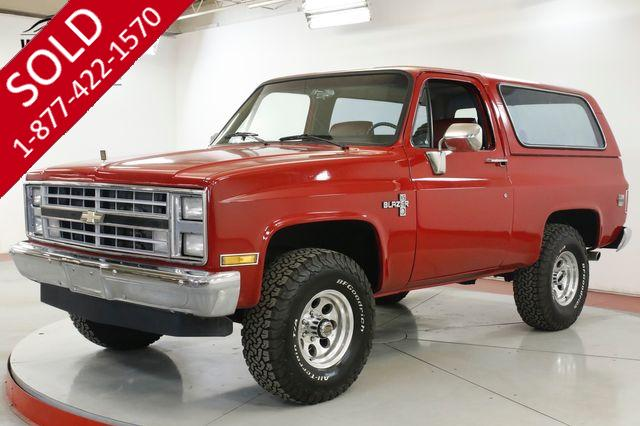 1985 CHEVROLET BLAZER RESTORED CONVERTIBLE V8 PS PB AUTO 4x4