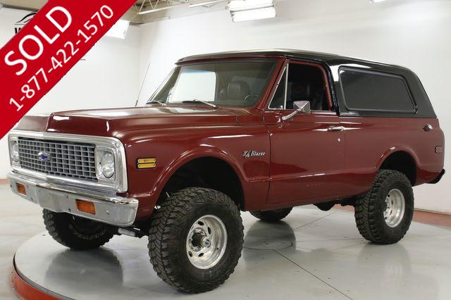 1972 CHEVROLET  BLAZER K5 UPGRADED V8 REMOVABLE TOP PS PB