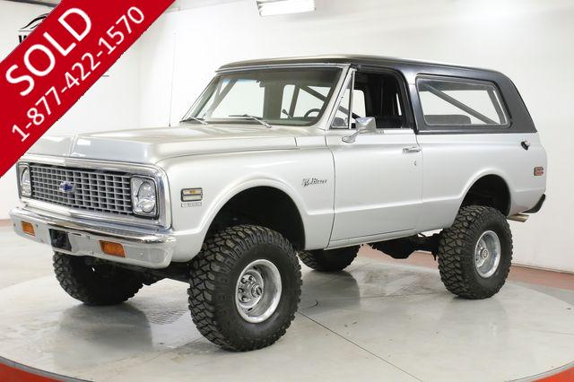 1972 CHEVROLET BLAZER V8 PS PB LIFTED REMOVABLE HARDTOP VINTAGE AC