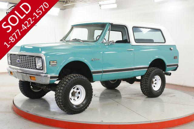 1972 CHEVROLET BLAZER K5 V8 4X4 PS PB LIFTED REMOVABLE TOP