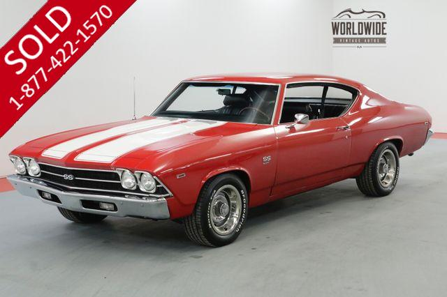 1969 CHEVROLET CHEVELLE RESTORED TRUE SS 454V8 HIGHLY OPTIONED