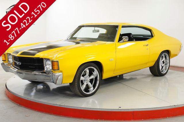 1971 CHEVROLET CHEVELLE RESTORED SS FRESH V8  FRONT DISC BRAKES PS