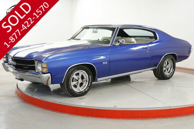 1971 CHEVROLET CHEVELLE  SS TRIBUTE V8 AUTO A/C PS PB SHOW READY