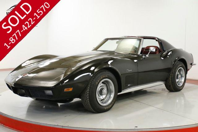 1973 CHEVROLET CORVETTE NUMBERS MATCHING RARE COLOR COMBO