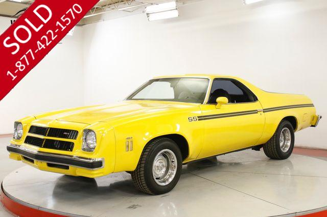 1976 CHEVROLET  EL CAMINO SS BIG BLOCK 454 4SPD SWIVEL SEAT AC PS PB
