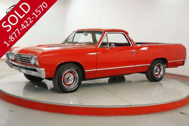 1967 CHEVROLET  EL CAMINO NEW V8 WITH 25 MILES AC PS PB