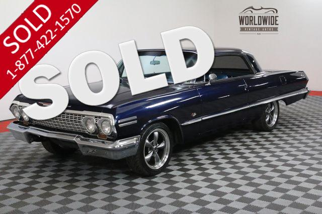 1963 CHEVROLET IMPALA SS NEW 350V8 MOTOR GREAT RIDE PB FRONT DISC