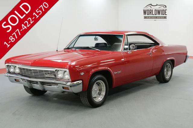 1966 CHEVROLET IMPALA SS RESTORED TRUE SS 350 V8 UPGRADES SHOW OR GO
