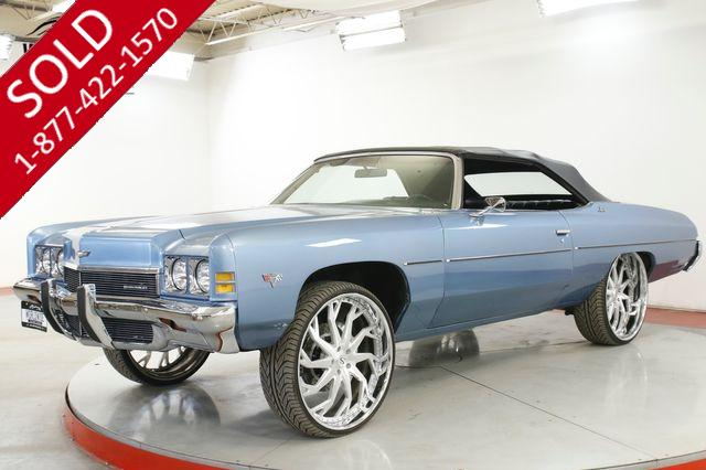 1972 CHEVROLET  IMPALA CONVERTIBLE DONK 26 INCH WHEELS 383
