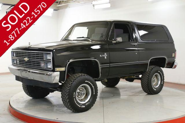 1983 CHEVROLET K10 BLAZER 4X4 NEW PAINT LIFT RALLY WHEELS V8 PS PB