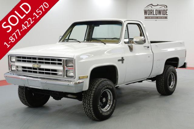 1985 CHEVROLET K10 RSTORED CRATE V8 UPDATED AC 11K MILES