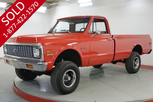 1971 CHEVROLET K10 350 V8 4X4 4-SPEED NEW PAINT PS PB MUST SEE
