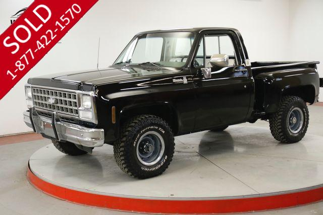 1980 CHEVROLET K10 SILVERADO STEP SIDE SHORTBOX 350 PS PB