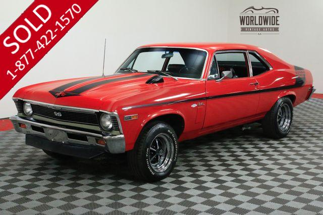 1969 CHEVROLET NOVA SS YENKO TRIBUTE. 700R4. SUPERCHARGER. RESTORED