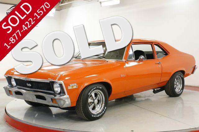 1972 CHEVROLET NOVA RARE SS REBUILT 396 V8 4 SPEED PS PB