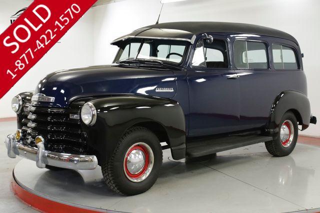 1951 CHEVROLET  SUBURBAN RARE COLLECTOR CA TRUCK! CARRYALL 16K MILES