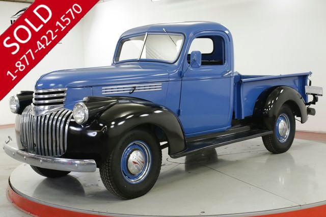 1946 CHEVROLET TRUCK CLASSIC ART DECO STYLING CHROME FRONT/REAR