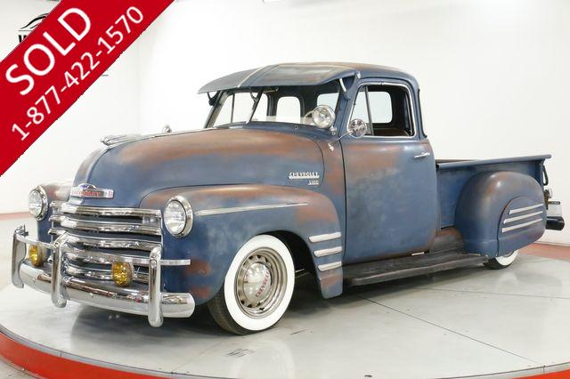 1952 CHEVROLET  TRUCK 5 WINDOW INCREDIBLE PATINA RARE TRIM CHROME