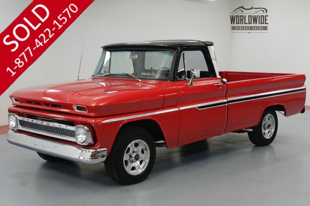 1965 CHEVY C10 CUSTOM 307CI V8 3 SPEED TURBO AUTO.