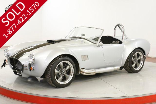 1965 Cobra Re-Creation FACTORY 5. V8. 4 WHEEL DISC. SHOW READY