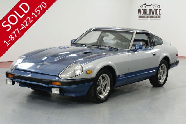 1982 Datsun 280ZX TURBO! ONE OWNER. 60K ORIGINAL MILES A/C.
