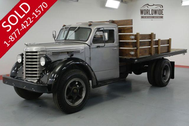 1948 DIAMOND T PICKUP RARE! SHOW OR GO. TIME CAPSULE. 4-SPEED.